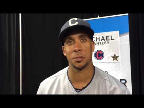 Indians Michael Brantley on homer surge