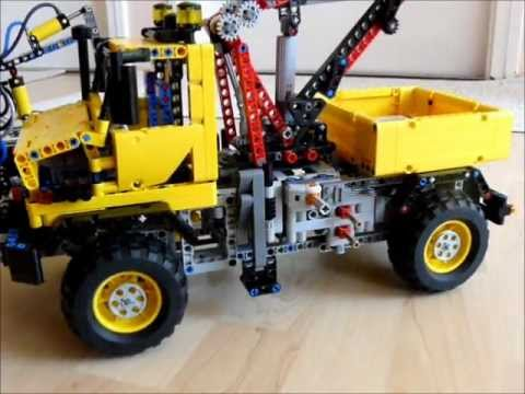 lego technic unimog prototypes replica by dokludi youtube. Black Bedroom Furniture Sets. Home Design Ideas