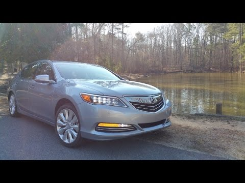 2016 Acura Rlx Sport Hybrid Sh Awd W Adv Review Drives Like A Non