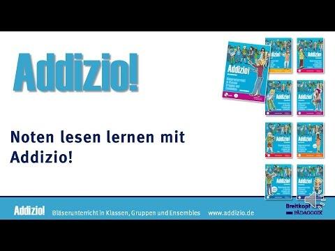 Noten lesen lernen mit Addizio!