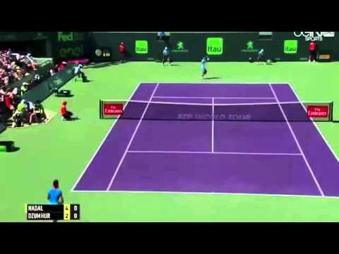 Nadal Vs Damir Dzumhur full match Highligts Miami open 2016