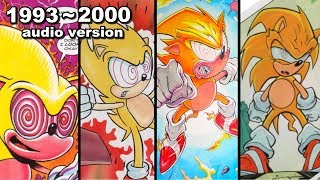The History Of Fleetway Super Sonic Audio Version