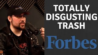 Forbes Publishes Disgusting Trash On Total Biscuit People Are MAD!