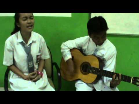 Justin Bieber - Down to Earth Acoustic Cover ( SMAN 100 )