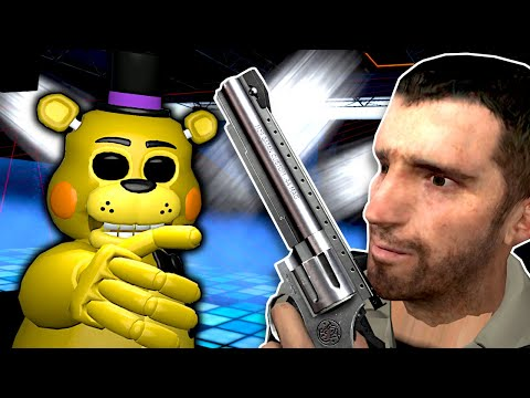 FNAF Animatronics attacked our Club! - Garry's Mod Gameplay