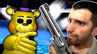 FNAF Animatronics attacked our Club!  Garry's Mod Gameplay