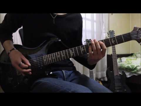 Nightrage - Descent Into Chaos - (guitar cover)