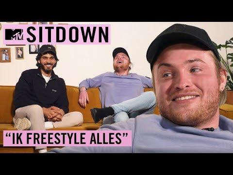 "DONNIE: ""Teksten schrijven is net zoals S*KS"" | MTV Sit Down"