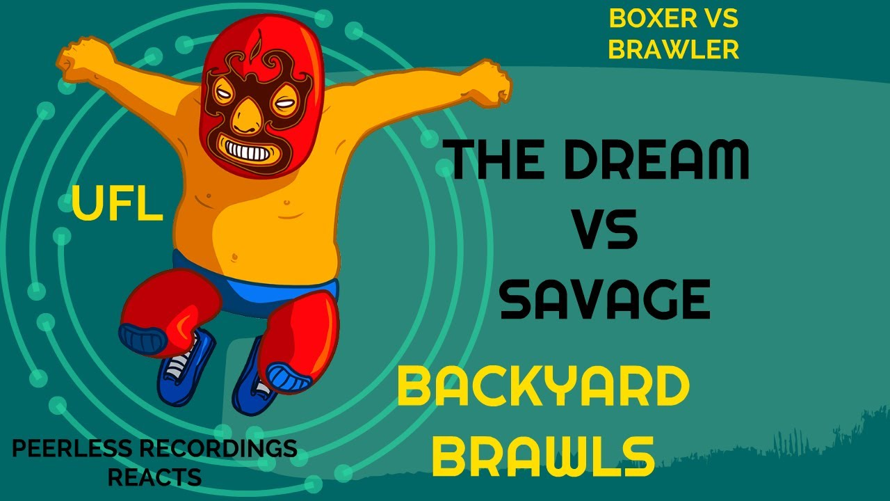 (The Dream) Vs. (Savage) - REACTION - BACKYARD BRAWLS!