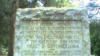confederate dead jonesboro ga 2013