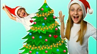 Merry Christmas song and Happy New Year by Tawaki kids\ Decorate christmas tree