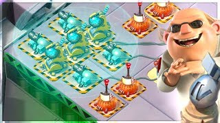 Boom Beach MEGA CRAB First Stages! NEW Prototyp...