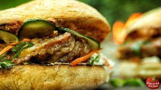 Best Chicken Burger! - Never Seen Before Serbian Style Burger