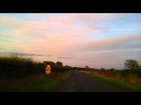 Scottish Borders Sunset Drive (On The Road Version)