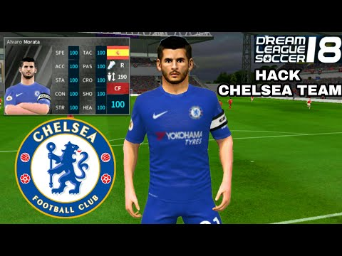 100% authentic cbcbf 5badd How To Hack CHELSEA Team 2018 ○ All Players 100 & Kits Logo ...