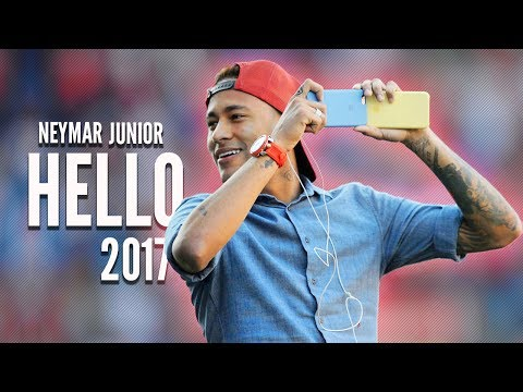 Neymar Jr. - Adele Hello - Skills & Goals - 2017 HD