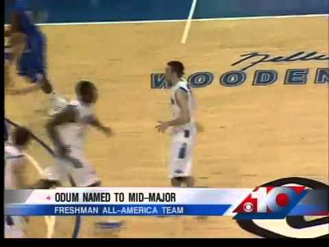 Odum named to mid-major freshman All-America Team