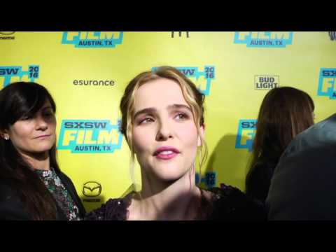 """Everybody Wants Some: Zoey Deutch """"Beverly"""" SxSW Red Carpet Premiere Interview"""