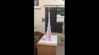 Burj Khalifa Paper Model (HD)