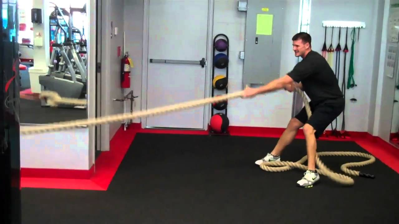 rope pulls band resisted youtube