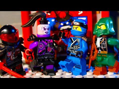 LEGO Ninjago The Sons of Garmadon EPISODE 2 - Mystery Biker Gang!