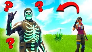 Where is the Skull Trooper ? l Fortnite Find the Skin !