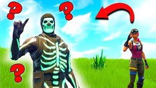 Où est le Skull Trooper ? l Fortnite Trouver la peau !