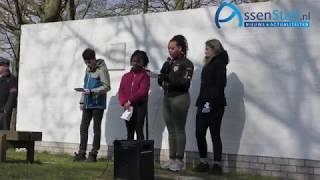 Herdenking Franse Parachutisten in Assen 2019