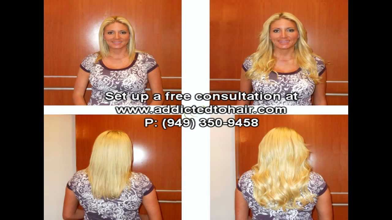 Addicted To Hair The Home Of Flattracs In Orange County Youtube