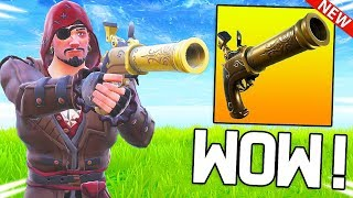 MY NEW SPECIAL ARME -PISTOLET TO SILEX IS TROP CHEATED ON FORTNITE!