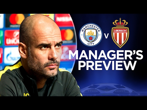 MONACO ARE KILLERS IN THE BOX! | Man City v Monaco | Guardiola Press Conference