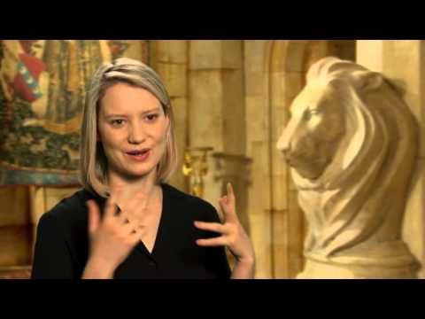 Alice Through The Looking Glass Interview - Mia Wasikowska
