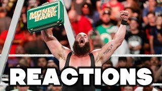 Video WWE Money In The Bank 2018 Reactions download MP3, 3GP, MP4, WEBM, AVI, FLV Juni 2018