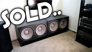 MY SUBWOOFERS HAVE BEEN SOLD..