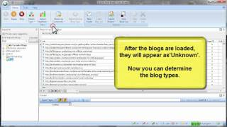 How to Load Your Own List of Blogs into Fast Blog Finder