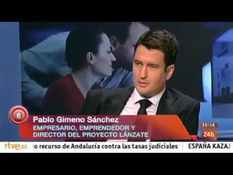 Pablo Gimeno Sánchez, Grupo PGS, en TVE Emprende Mayo 2013