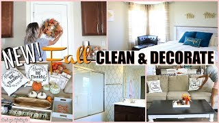 FALL CLEAN & DECORATE WITH ME 2018 | EXTREME CLEANING MOTIVATION | CLEAN WITH ME