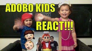 ADOBOsandwich KIDS REACT to MEET & GREET at JOLLIBEE