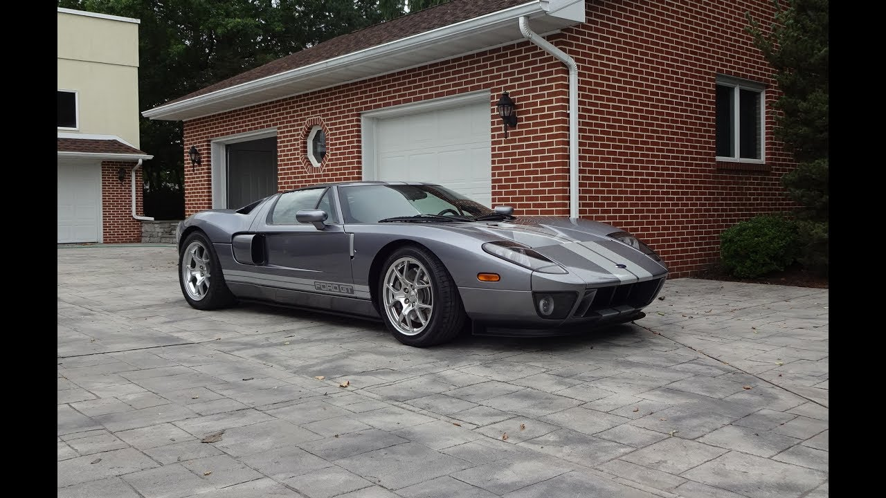 Drive Ride A  Ford Gt In Tungsten Silver Grey Why Not On My Car Story With Lou Costabile