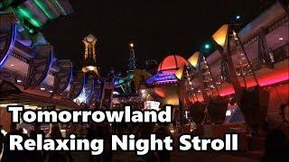 Tomorrowland Relaxing Stroll at Night | Magic Kingdom | Walt Disney World thumbnail