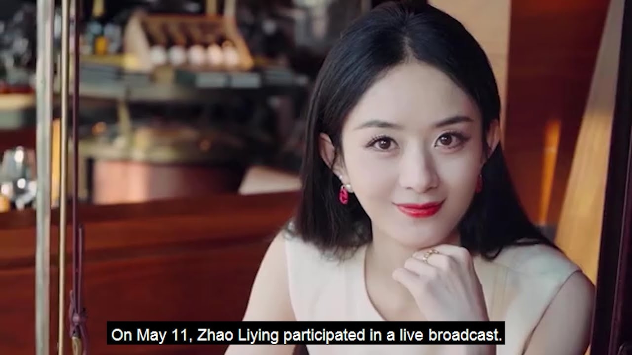 Asked how to face the change, Zhao Liying expressed her attitude towards life.