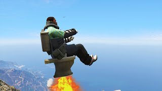 IMPOSSIBLE MODDED VEHICLE HIT A STUNT! (GTA 5 Hit A Stunt #44)