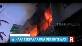 Wihara Terbakar, Dua Orang Tewas