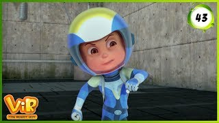 Vir: The Robot Boy | The Electrical Transformer | Action cartoons for Kids | WowKidz Action