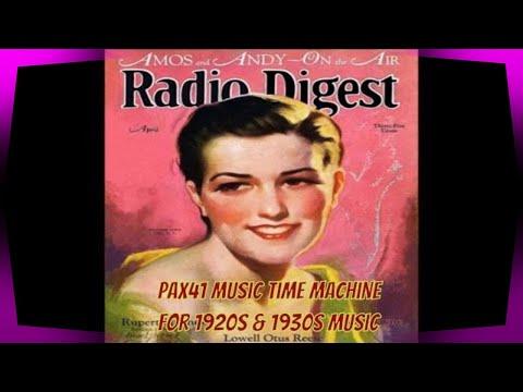 Popular 1920s & 1930s Music  Radio Singers  @Pax41