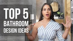 Top 5 Bathroom Interior Design Ideas and Home Decor | Tips and Trends