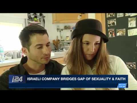 """ואהבתם ב-  i24 NEWS :  """"חברה ישראלית מגשרת על הפער שבין מיניות לאמונה"""""""