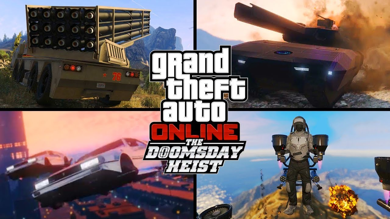 gta 5 the doomsday heist trailer