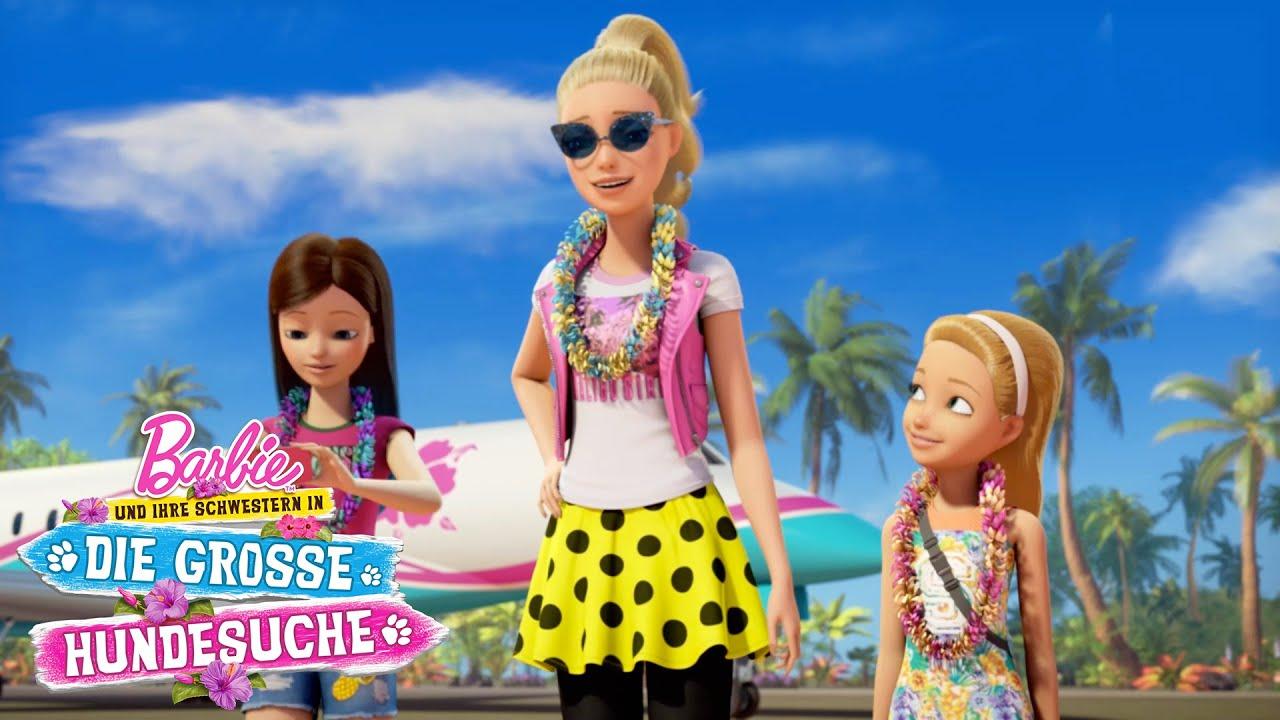 Willkommen Auf Der Insel Barbie Und Ihre Schwestern In Die Grosse Hundesuche Barbie Deutsch Youtube