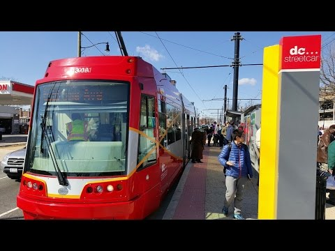 DC Streetcar Opening Day Ride Along H Street NE